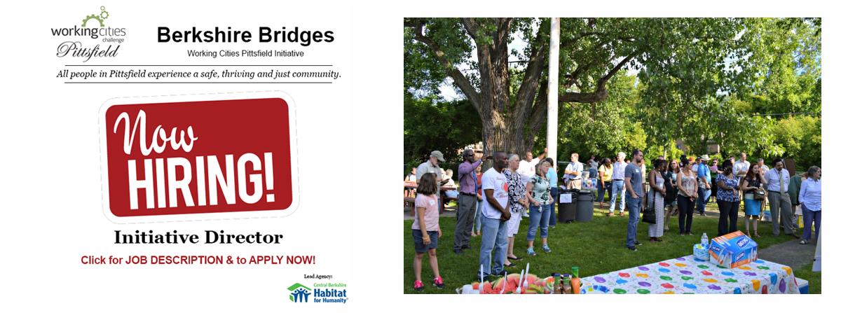 Berkshire Bridges – a Working Cities Initiative, is hiring!