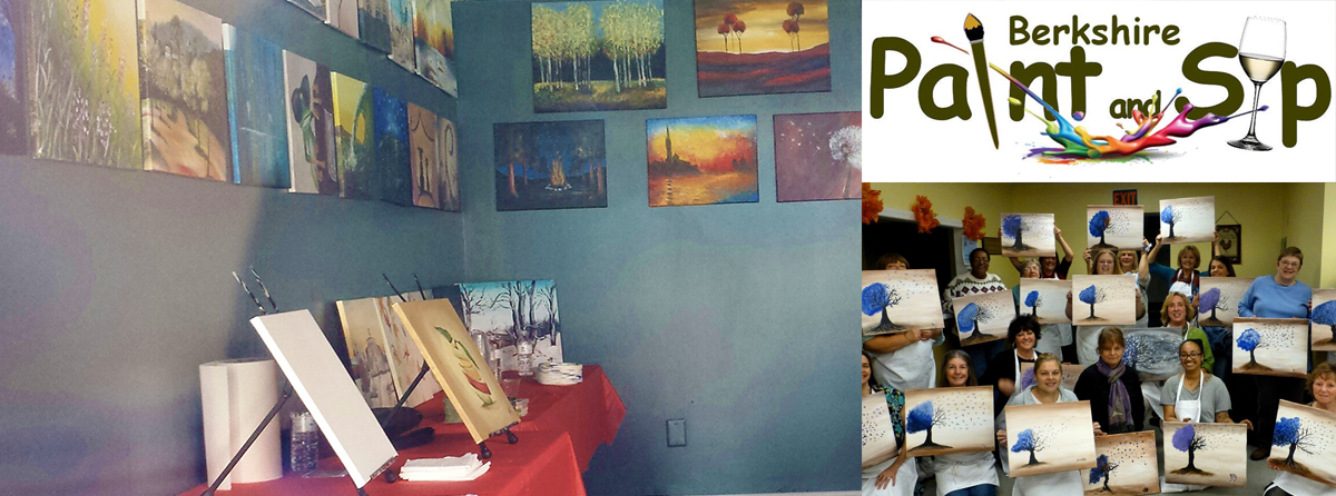 Berkshire Paint and Sip | 305 North St. | berkshirepaintandsip.com