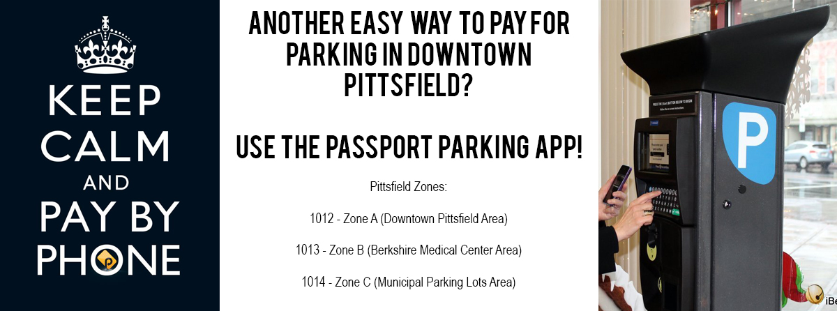 Passport Parking App for Downtown Pittsfield