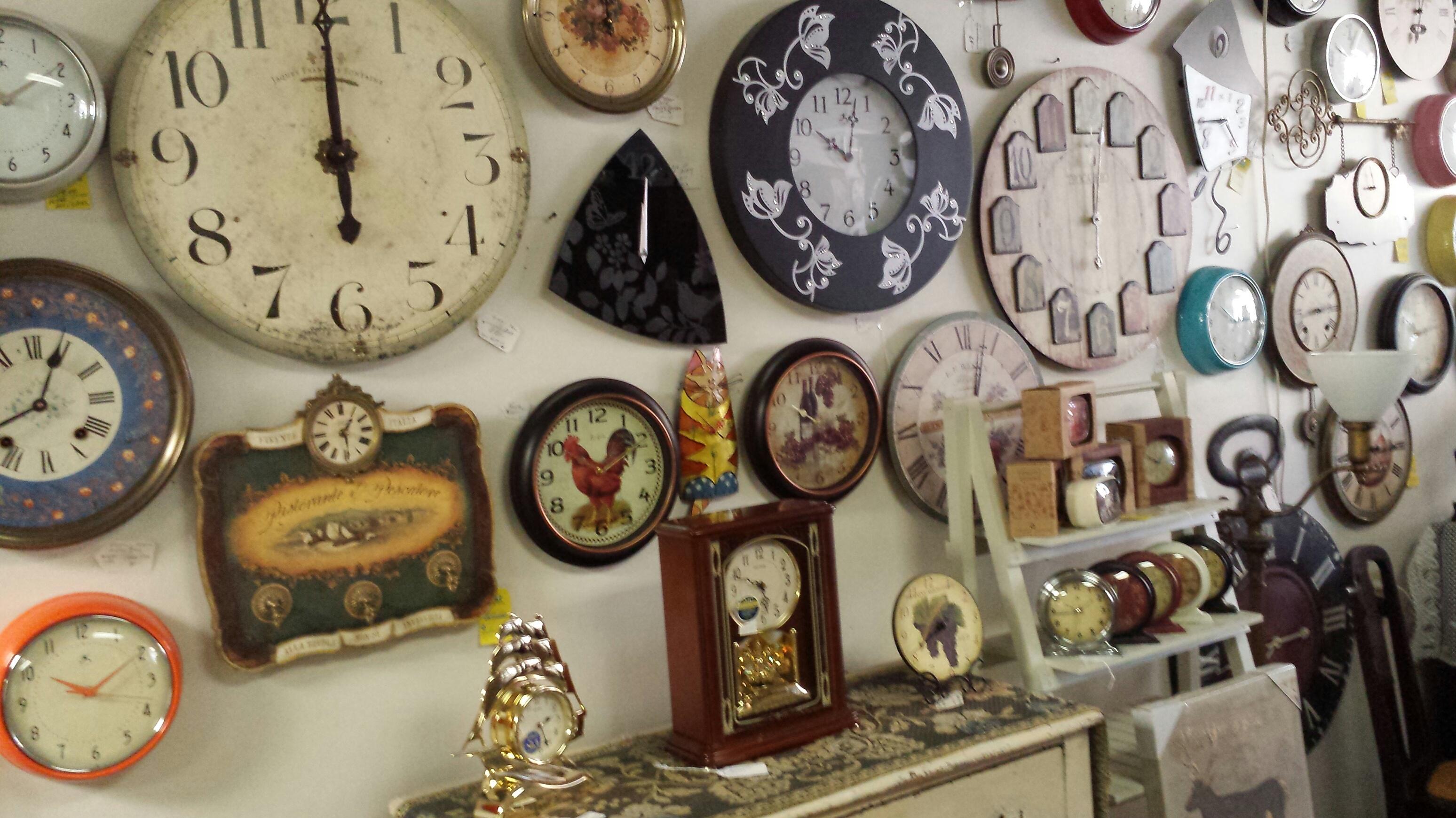 West Side Clock Shop   449 North St.   westsideclockshop.com