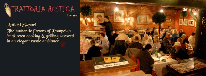Restaurant, Trattoria Rustica