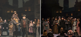 "Berkshire Theatre Group's  ""A Christmas Carol"" in Downtown Pittsfield, MA"